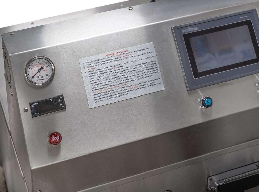 Pulitore vapore industriale SI27